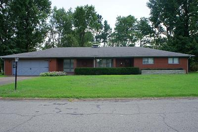 Massac County Single Family Home Active Contingent: 114 Carter Drive