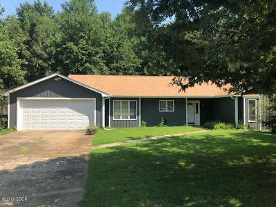 Carbondale Single Family Home For Sale: 1310 E Meadowbrook Lane