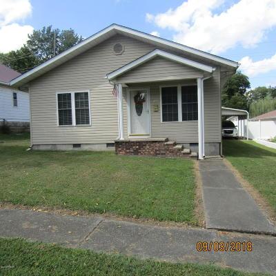 West Frankfort Single Family Home For Sale: 409 N Gardner