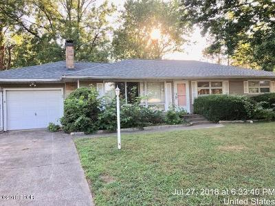 Murphysboro IL Single Family Home For Sale: $49,900