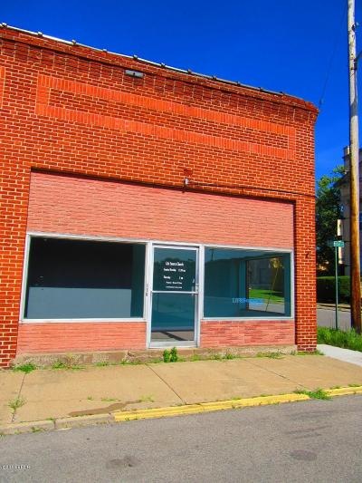West Frankfort Commercial For Sale: 116 S Emma Street