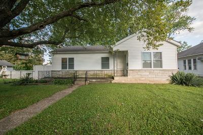 Marion IL Single Family Home Active Contingent: $79,800