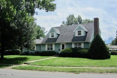 Carbondale Single Family Home For Sale: 1701 W Taylor Drive
