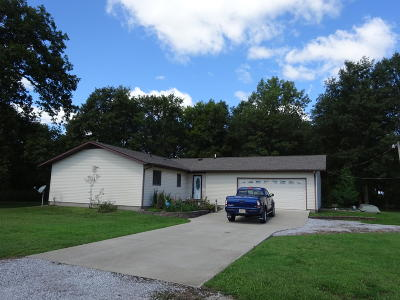 Single Family Home For Sale: 12531 County Rd 000 N