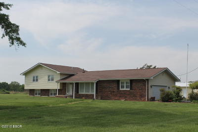 Carterville Single Family Home Active Contingent: 14961 Laminack Road