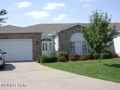 Carbondale Single Family Home Active Contingent: 1012 Villa Court