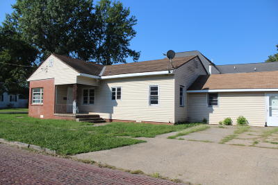 Single Family Home For Sale: 325 S Webster