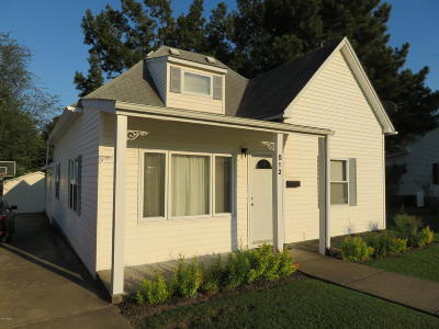 Herrin IL Single Family Home For Sale: $79,680