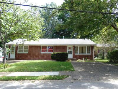 Carbondale Single Family Home For Sale: 309 S Dixon Avenue