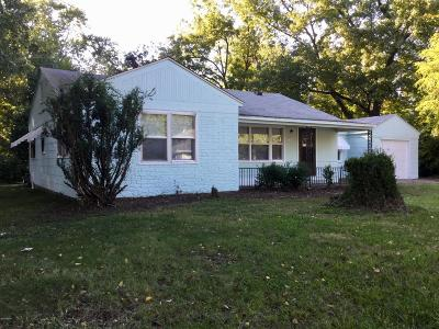 Carbondale IL Single Family Home For Sale: $38,900
