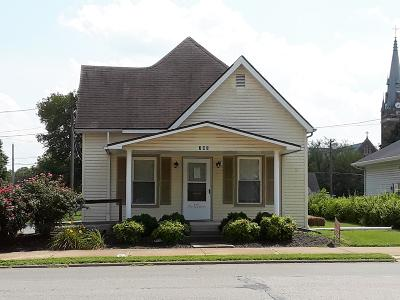 Murphysboro Single Family Home For Sale: 703 Walnut Street