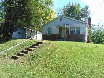 Murphysboro Single Family Home For Sale: 1109 Rover Street