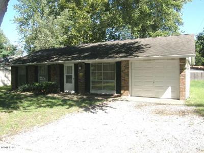Herrin Single Family Home For Sale: 704 N 27th Street