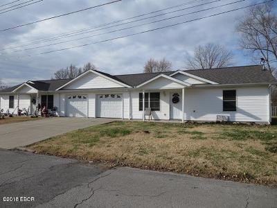 Johnston City Multi Family Home For Sale: 805 Newton Avenue