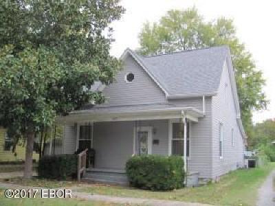 Murphysboro Single Family Home For Sale: 2022 Hortense Street