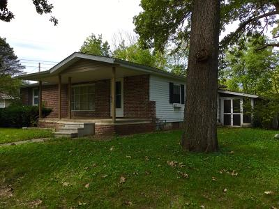 Benton Single Family Home For Sale: 707 Forest