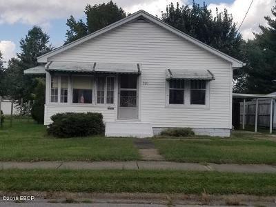 Herrin Single Family Home For Sale: 721 W Monroe Street