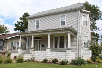Murphysboro Single Family Home For Sale: 222 N 14th Street