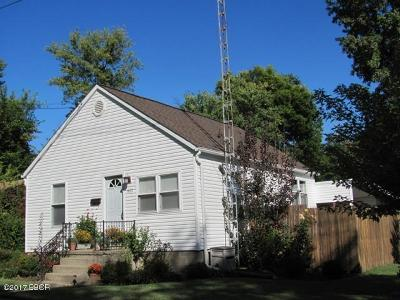 Carbondale Single Family Home For Sale: 402 W Chestnut Street