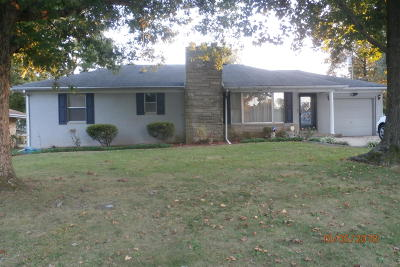 Marion IL Single Family Home Active Contingent: $94,900