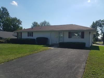 Harrisburg IL Single Family Home For Sale: $134,900