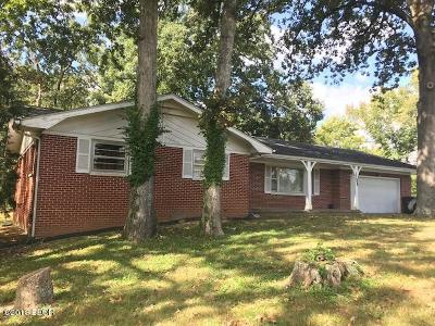Carbondale Single Family Home For Sale: 1104 S Giant City Road