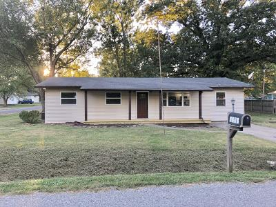 Herrin IL Single Family Home For Sale: $97,900