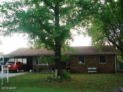Johnston City Single Family Home For Sale: 903 W 11th Street