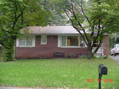 Carbondale Single Family Home For Sale: 1301 W Schwartz Street