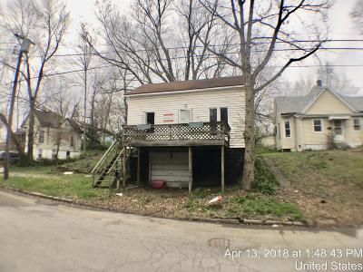 Murphysboro IL Single Family Home For Sale: $4,500