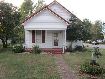 Metropolis IL Single Family Home For Sale: $49,900
