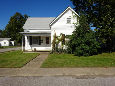 Harrisburg IL Single Family Home For Sale: $54,900