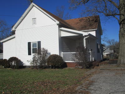 Benton Single Family Home For Sale: 609 W Washington Street
