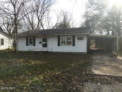 Murphysboro Single Family Home For Sale: 2033 Roblee Avenue Avenue