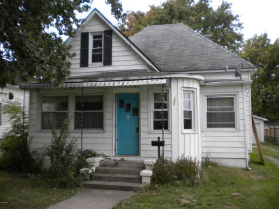 Single Family Home For Sale: 123 S Water Street
