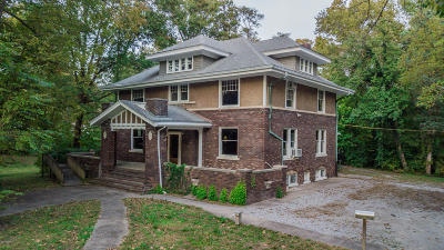 Benton Single Family Home For Sale: 218 N McLeansboro Street