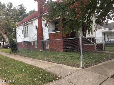 Harrisburg IL Single Family Home For Sale: $29,500