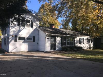 Carbondale Single Family Home For Sale: 201 S Dixon
