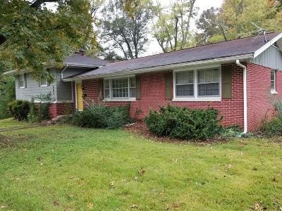 Carbondale IL Single Family Home For Sale: $118,000