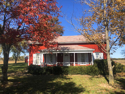 Galatia IL Single Family Home For Sale: $136,500