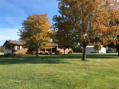 Mt. Vernon Single Family Home For Sale: 9926 E Ambassador Road