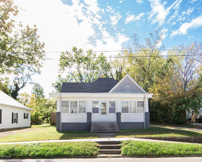 Carbondale Single Family Home For Sale: 411 W Sycamore Street