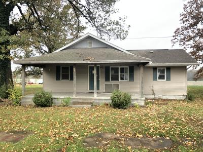 Hurst IL Single Family Home For Sale: $19,900