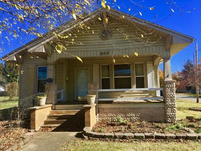Herrin Single Family Home Active Contingent: 800 N 18th Street