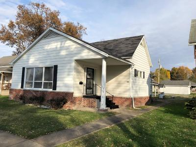 Herrin IL Single Family Home For Sale: $63,500