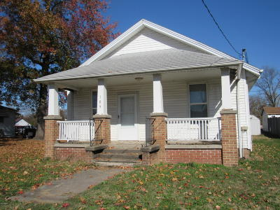 Ava IL Single Family Home For Sale: $45,000