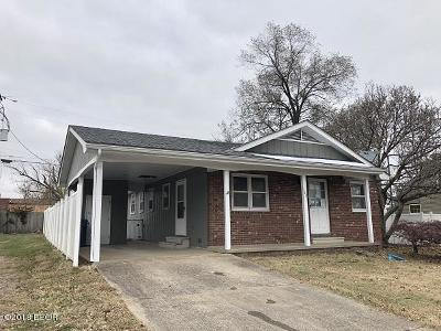 Benton Single Family Home For Sale: 103 E Webster Street
