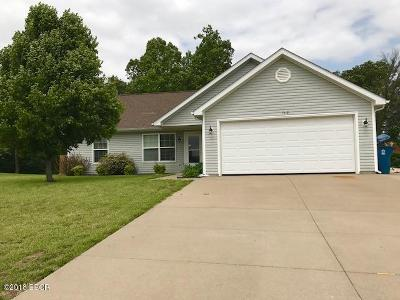 Carterville IL Single Family Home For Sale: $167,000