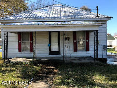 Carterville IL Single Family Home For Sale: $32,400
