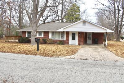 Carbondale IL Single Family Home For Sale: $89,900